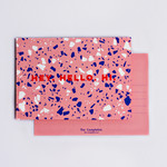 The Completist The Completist Postcard Pink Terrazzo