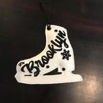 BKLYN Ice Skate Ornament Brooklyn