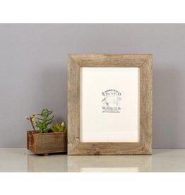 Handmade Reclaimed Cedar Wood Frame