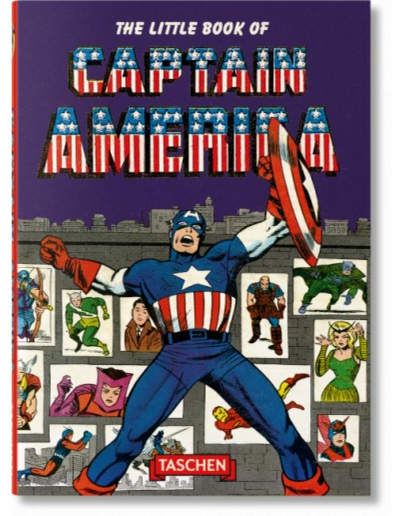 Taschen Taschen The Little Book of Captain America