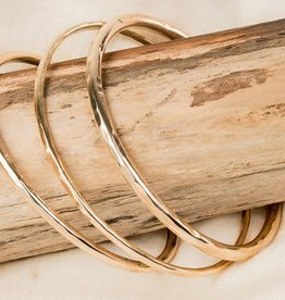 Mana Made Jewelry Mana Made Thin Cuff - 14K Rose Gold