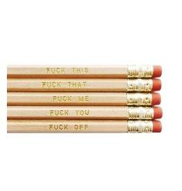 Rhubarb Paper Co. Pencil Set