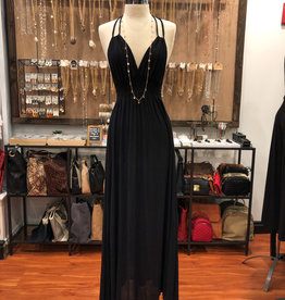 FINAL TOUCH HALTER MAXI DRESS