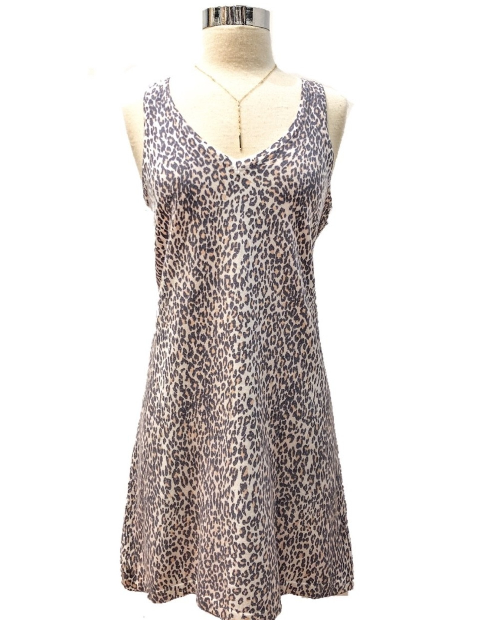21-244LDL LEOPARD DRESS