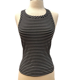 STRIPED RACER BACK TANK
