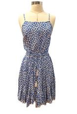 DA25747Y RUFFLE BOTTOM DRESS