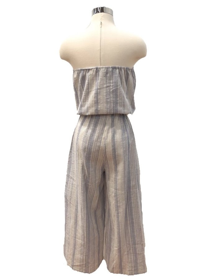 RA91154A STRAPLESS JUMPSUIT