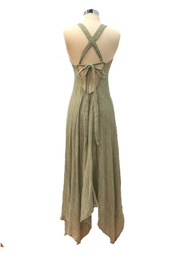D16941A FLORAL MAXI DRESS