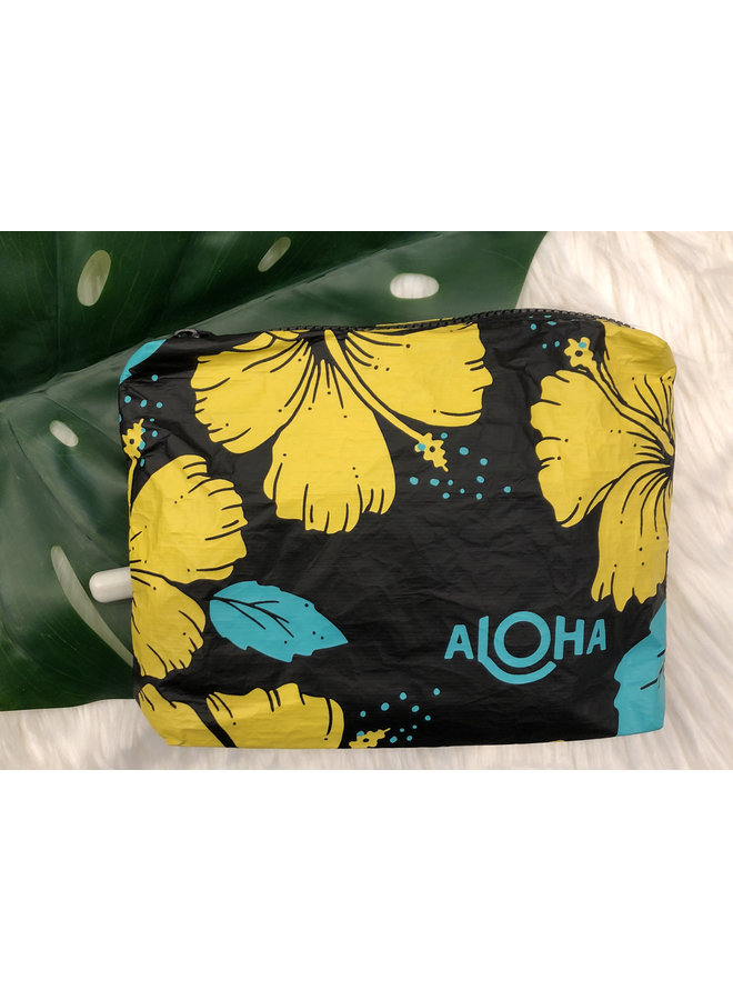 ALOHA COLLECTION SMALL HIBISCUS CANARY