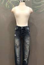 VT600 HIGH RISE DISTRESSED SKINNY