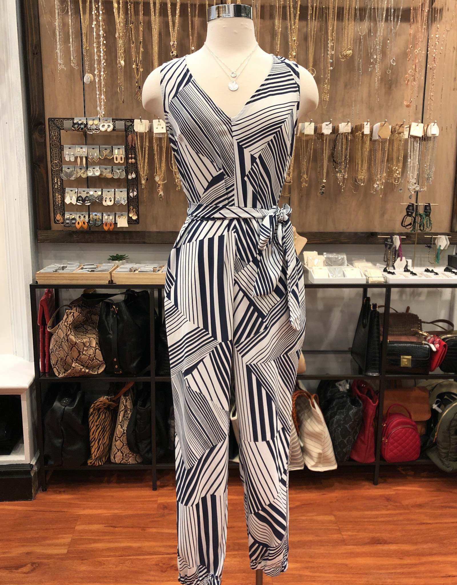LP21240B-CI TAPERED JUMPSUIT