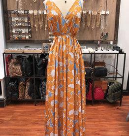 WAIST BELT MAXI DRESS