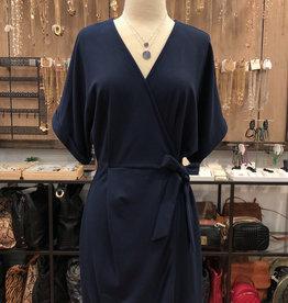 KIMONO OVERLAP DRESS