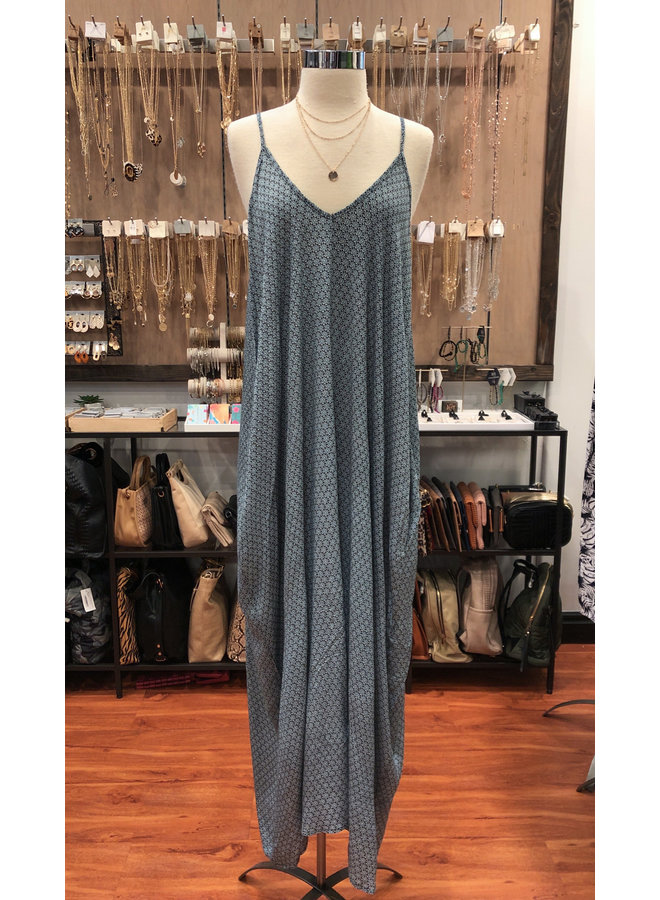 MOROCCAN COCOON MAXI DRESS