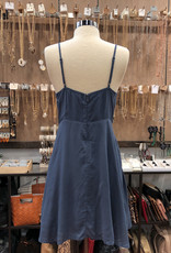 ID30460A FIT AND FLARE CAMI DRESS