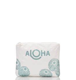 ALOHA COLLECTION SMALL ALOHA OPIHI TEAL