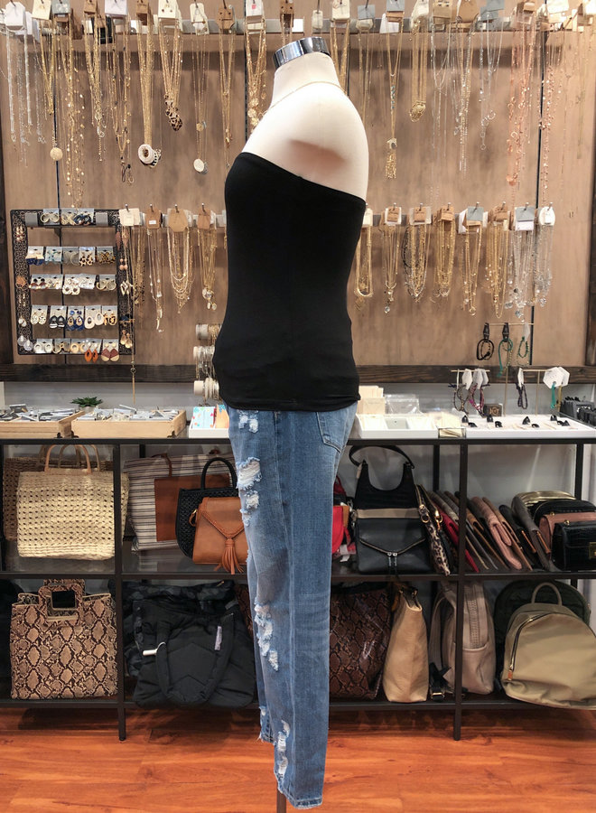 T16021 DOUBLE LAYER TUBE TOP