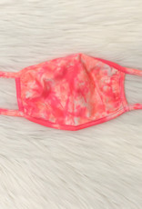 ADULT FACE MASK TIE DYE PINK