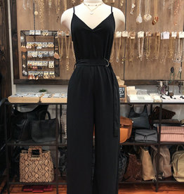BELTED MAXI JUMPSUIT