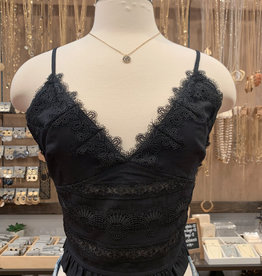 PLEAT AND LACE BRAMI