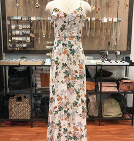 BLOOM BUTTON DOWN MAXI DRESS