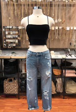 T17285 DOUBLE LAYERED CAMI CROP TOP
