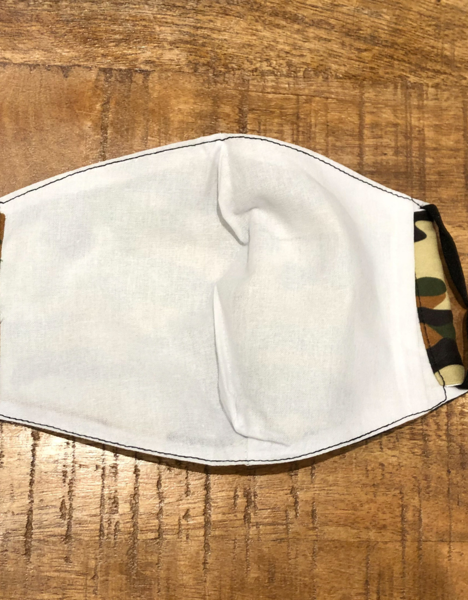 ADULT FACE MASK CAMO WITH FILTER POCKET