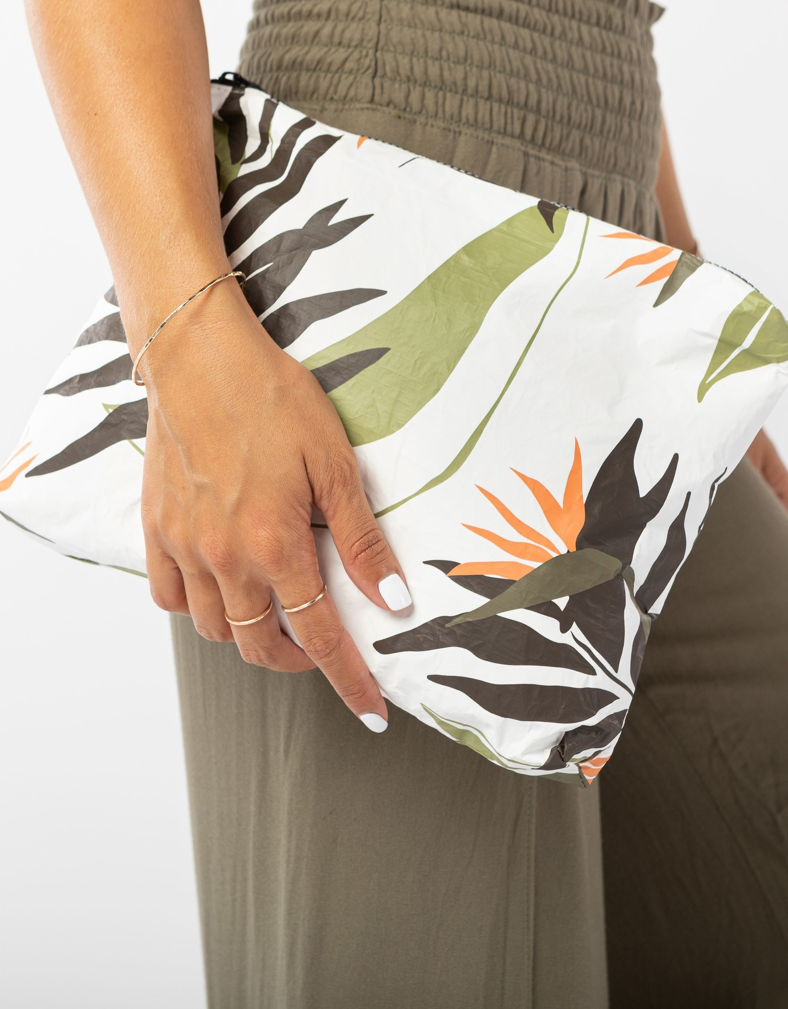 ALOHA COLLECTION MID PAINTED BIRDS NEUTRALS