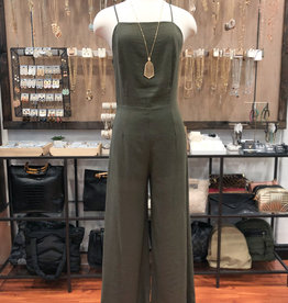 LINEN BIG PANTS JUMPSUIT