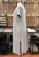 D40102A JERSEY KNIT TEE DRESS