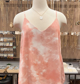 CLOUD DYE DOUBLE LAYERED CAMI