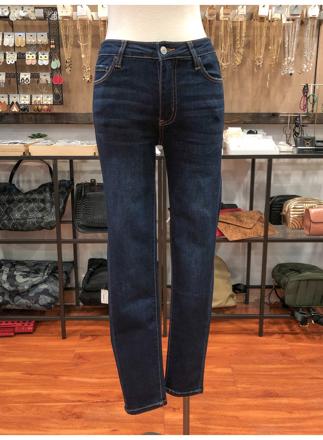 MID RISE SUPER SOFT ANKLE SKINNY