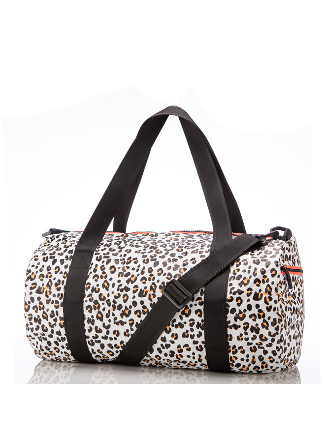 ALOHA COLLECTION DUFFLE LEOPARD CUB