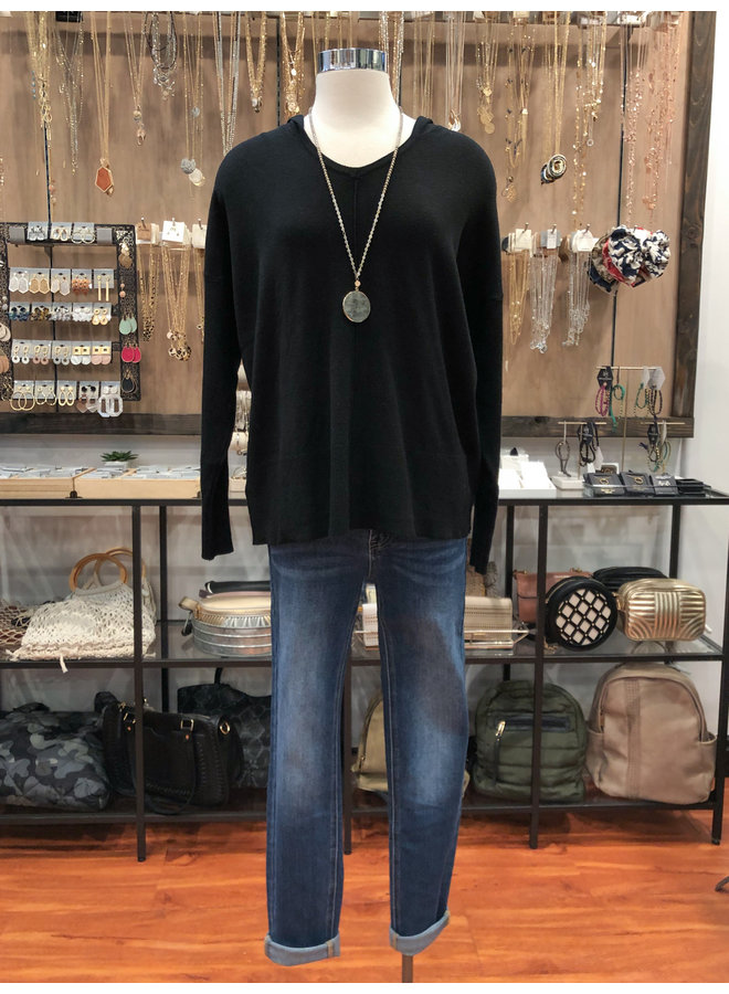 T3478 HOODED PULLOVER