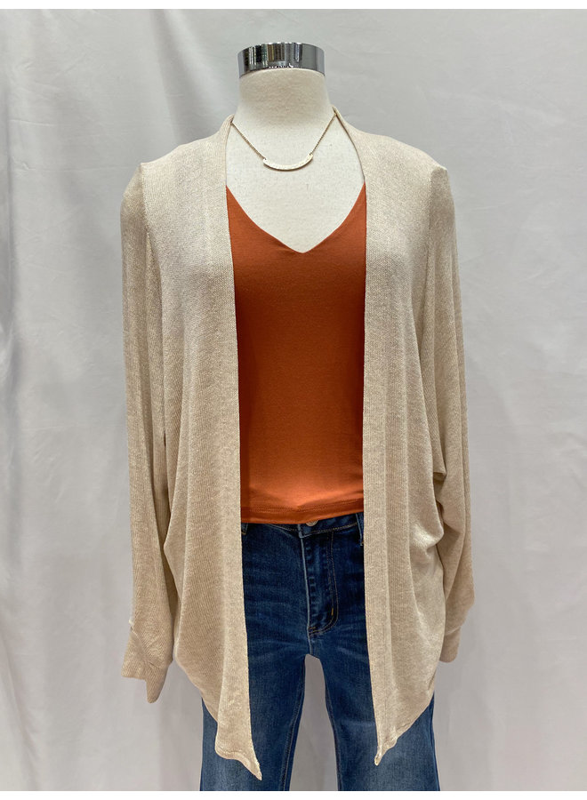 LIGHTWEIGHT CARDIGAN  *2 colors available*