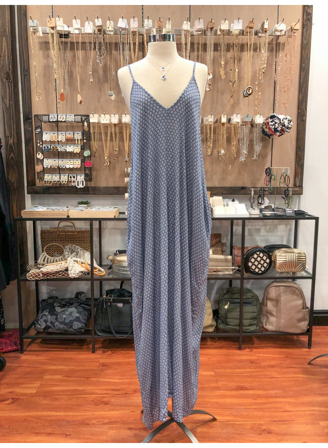 ID7420F MOROCCAN COCOON MAXI DRESS