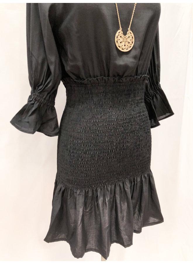 60093 SMOCKED SKIRT DRESS