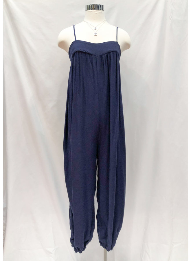 LINE SKETCH SLOUCHY JUMPSUIT *2 colors available*