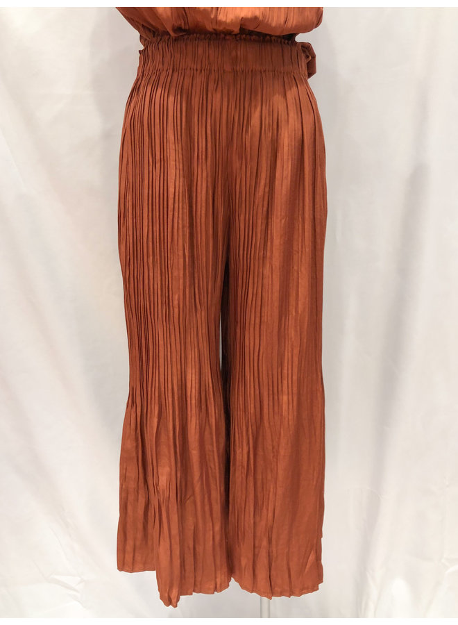PLEATED WIDE PANTS *2 colors available*