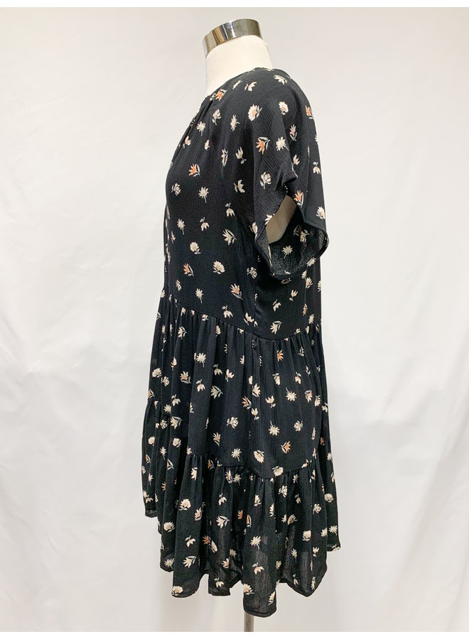 D30597J FLORAL COMFY DRESS