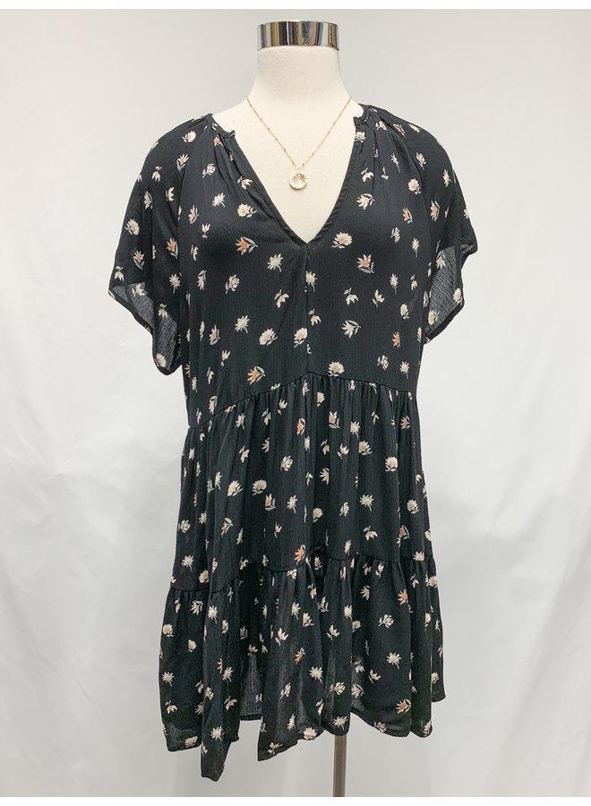 FLORAL COMFY DRESS