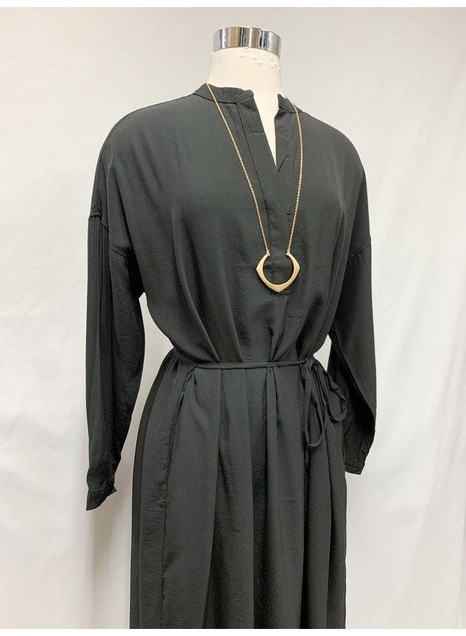 60216 WAIST TIE DRESS