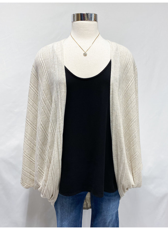 OVERSIZED SHRUG CARDIGAN