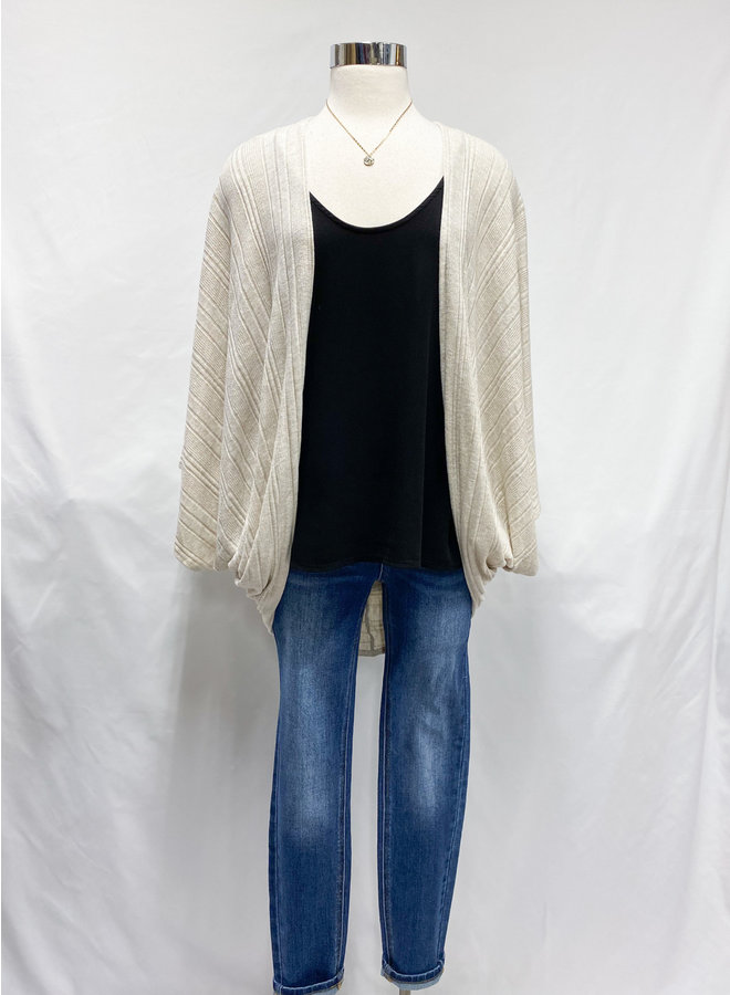 C16709G OVERSIZED SHRUG CARDIGAN