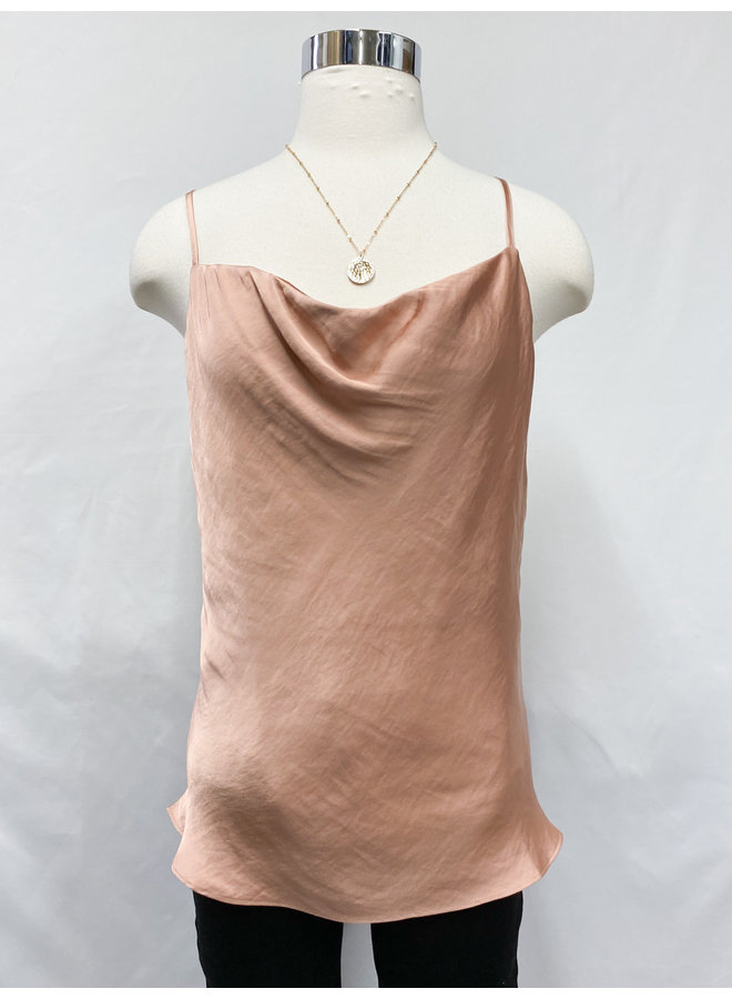 COWL NECK CAMI  *2 colors available*