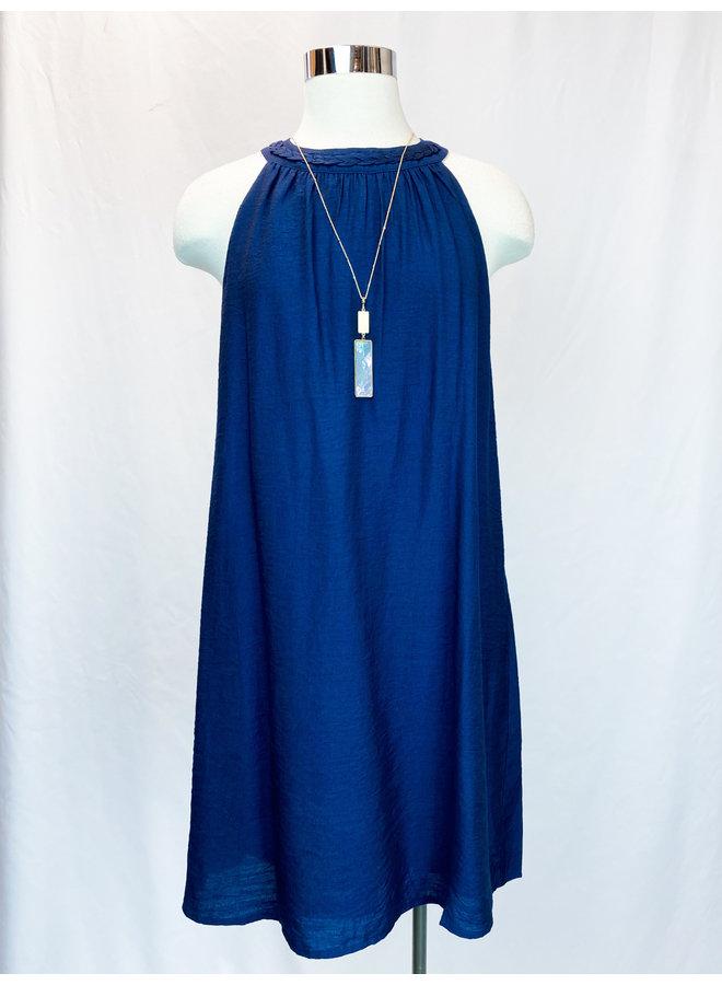 JH1022 HALTER DRESS