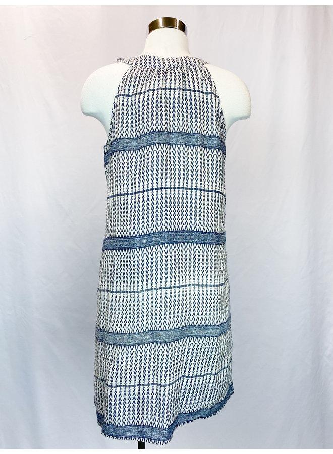 SRT0229-1 PRINTED DRESS