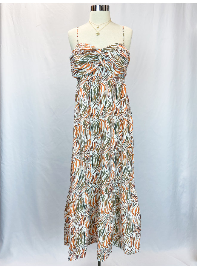 STRAP SWEETHEART MAXI