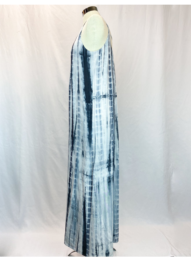 JH1076 TIEDYE MAXI DRESS