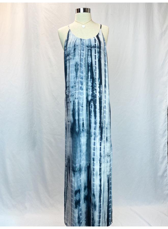 JH1076 TIEDYE MAXI DRESS